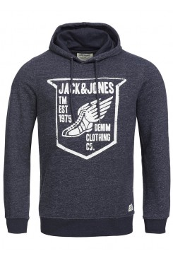 Mikina Jack & Jones / CLASSIC SWEAT HOODIE 12097887 JJ OR paint sweat Hood