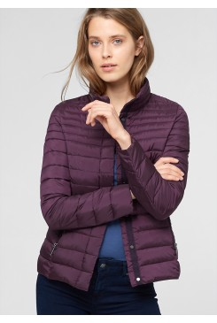 Dámska bunda s.OLIVER / Quilted jacket with a light down finish 09.511.51.4185 4692