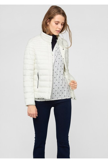 Dámska bunda s.OLIVER / Quilted jacket with a light down finish 09.511.51.4185 8000