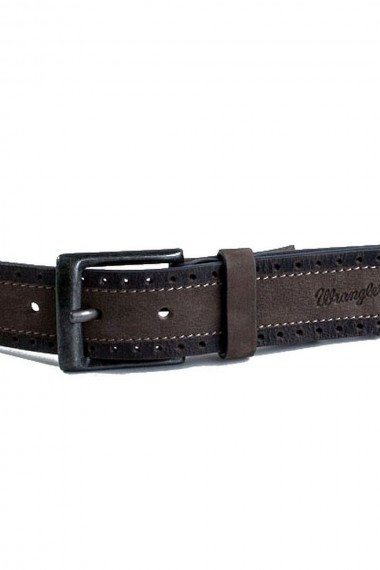 Pánsky opasok WRANGLER / DOUBLE CLR LEATHER W0001UK01