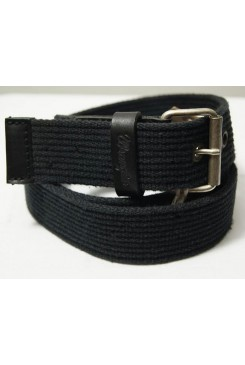 Opasok WRANGLER / RIB CANVAS BELT BLACK W0162UK01
