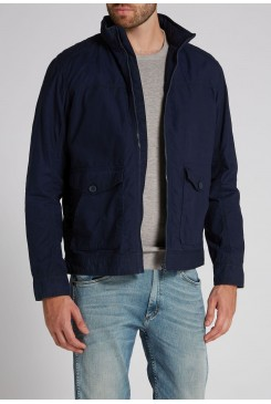 Pánska bunda WRANGLER / THE CLASSIC BOMBER W4611VP35 NAVY