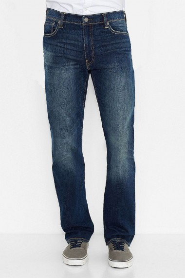 Pánske rifle LEVI´S 504™ REGULAR STRAIGHT JEANS / FIT BLUE 299900145