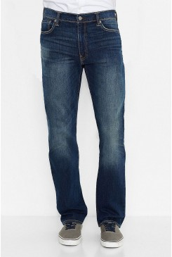 Pánske rifle LEVI´S® 504™ REGULAR STRAIGHT JEANS / FIT BLUE 299900145