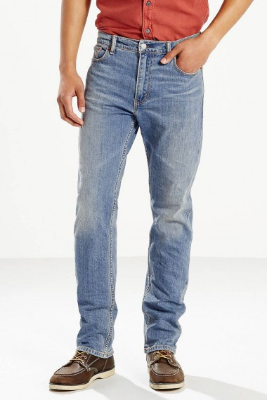 Pánske rifle LEVI´S® 504™ REGULAR STRAIGHT JEANS / FIT BLUE 299900494