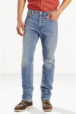 Pánske rifle LEVI´S 504™ REGULAR STRAIGHT JEANS / FIT BLUE 299900494