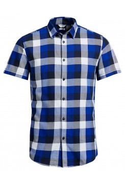 Pánska košeľa Jack & Jones /  JJCOGAVIN SHIRT S/S 2016 POCKET 12102234