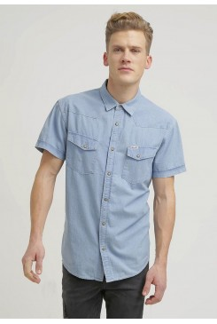 Pánska košeľa WRANGLER / Denim shirt  W5839BY4E