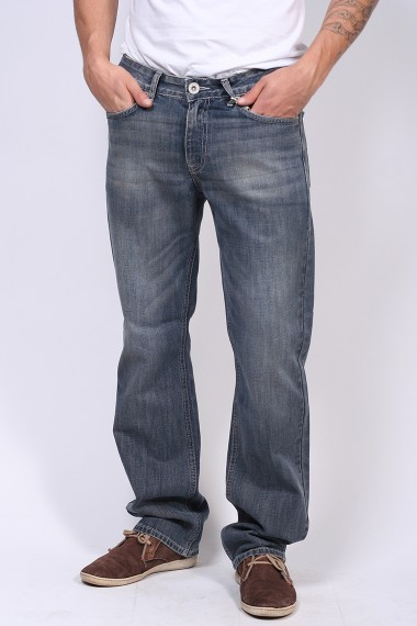 Pánske rifle HIS JEANS 103-10-1013 RENDY GREY USED W3004