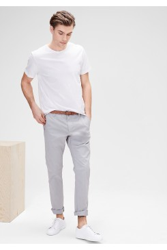 Pánske chino nohavice s.OLIVER / Sneck Slim: chinos with a belt 13.604.73.2483 9115