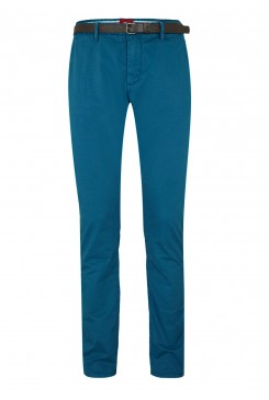 Pánske chino nohavice s.OLIVER / Sneck Slim: chinos with a belt 13.604.73.2483 6475