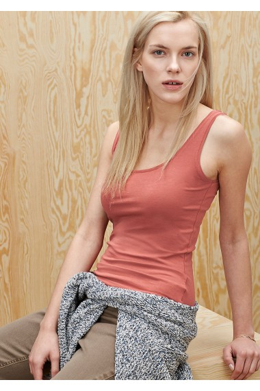 Dámsky top s.OLIVER / Longline top in stretch cotton 04.899.34.2730 3847