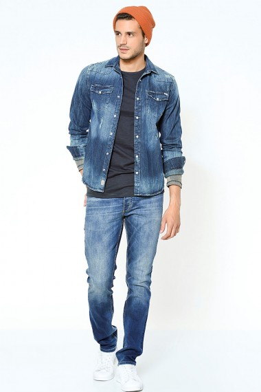 Pánske rifle Jack & Jones / TIM SLIM FIT 12111163