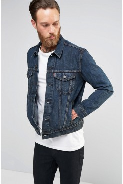 Riflová bunda Levi´s / TRUCKER JACKET SEQUOIA KING 723340176