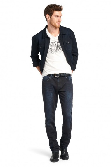 Pánske rifle HIS / CLIFF Slim Jeans 101079-00-9674