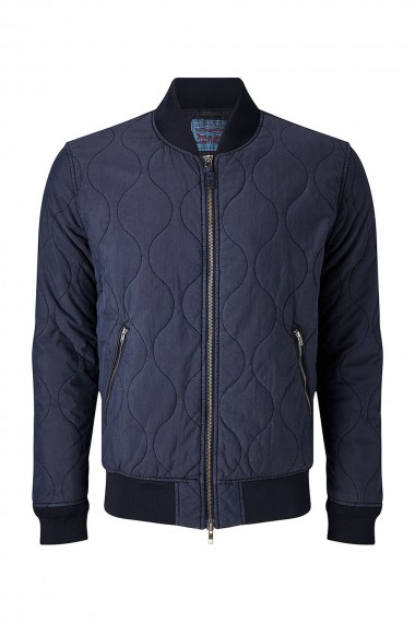 Pánska bunda LEVI´S / THERMORE QUILTED BOMBER Nightwatch Blue 276960001
