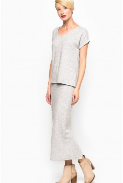 Dámska sukňa MAVI / LONG SKIRT grey 165791-21619