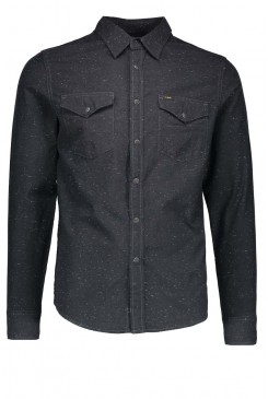 Pánska košeľa LEE / WESTERN SHIRT Black L644MP01
