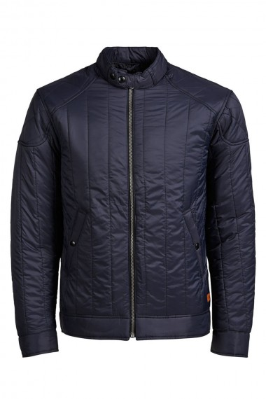 Pánska bunda Jack & Jones / JEFF BIKER JACKET navy 12107878