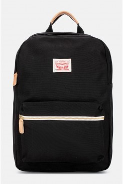 Batoh LEVI´S / Canvas Zip Top Backpack Black 77170-0634