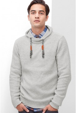 Pánsky pulóver s.OLIVER / Jumper with a sporty shawl collar  13.610.61.6915 0605
